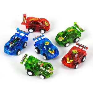 Rhode Island Novelty 12 Pull Back Racer Cars
