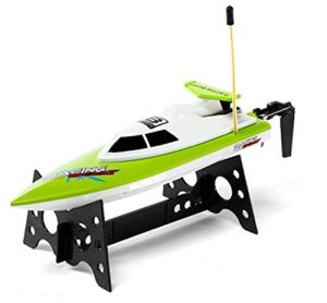 Top Race TR-800 Remote Control Water Speed Boat, 15.1 x 8.9 x 4.1-Inch, Assorted Color