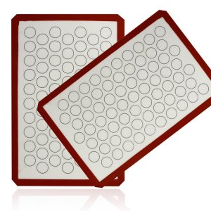 Aprince Silicone Baking Mat Set (2) Non-Stick Cookie Sheet (Silicone Mat 5)