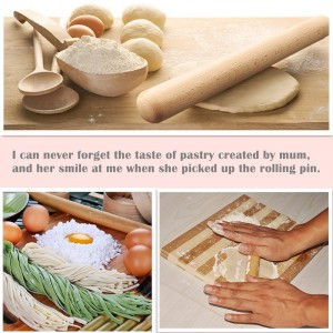 Bamber Wood French Rolling Pins for Baking