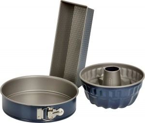 Kaiser Cake Pan- Set, 3 Pieces, Springform 26 cm