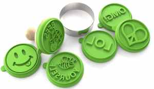 Silicandy Cookie Stamp Molds
