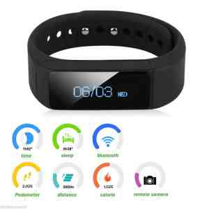 Trend United I5 Plus Bluetooth Smart Bracelet Smart Watch Sports Fitness Tracker For Smartphone Pedometer Tracking Calorie Health Sleep Monitor Fitness App