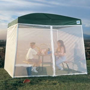 E-Z Up Screen Room for a 10'x10' Dome