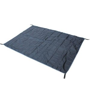 Bluecell Black Color Thick Tent Footprint Waterproof Floor Saver for Camping Hiking Backpacking Picnic Shelter Shade Canopy Outdoor Activity by Generic