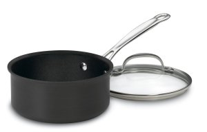 Cuisinart 619-16 Chef's Classic Nonstick Hard-Anodized 1-12-Quart Saucepan with Lid