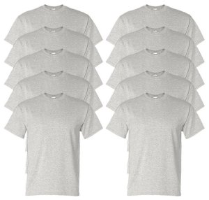 Gildan Men's Wicks Moisture T-Shirt (Pack of 10)