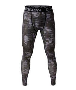 Showtime Men's Professional Design Football Running Tights Stretch Ankle Length Pants