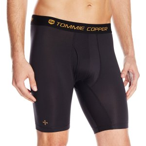 Tommie Copper Men's Compression Shorts with Fly