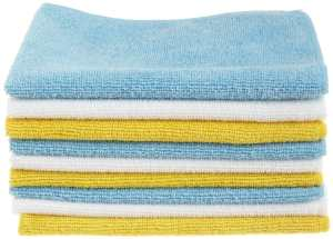 AmazonBasics Microfiber Cleaning Cloth - 36 Pack