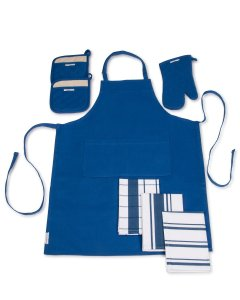 Apron Set For Men or Women - Ideal for Baking, Crafts or as a gift for your favorite Cook