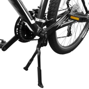 BV Bicycle Black Adjustable & Foldable Double Leg Kickstand Storage