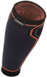 Calf Compression Sleeve by Kunto Fitness - Improve Blood Circulation & Reduce Leg Swelling & Shin Splints - Superior Fit
