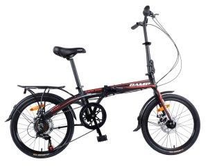 Camp 20 Alloy 7 Speed Folding Bike Disc Brake Super Sonic