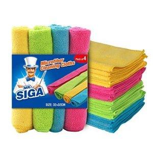 MR. SIGA Microfiber Cleaning Cloths