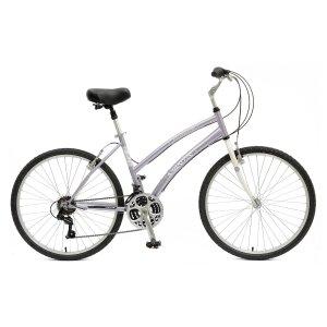 Mantis Premier 726L Comfort Bike, 26 inch Wheels, 17 inch Frame, Women's Bike, Purple