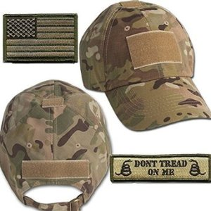 Operator Cap Bundle - w USADont Tread Patches
