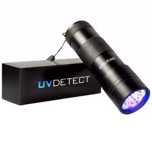 UV Detect UV Flashlight - Best LED Ultraviolet UV Flashlight for Pet Stains