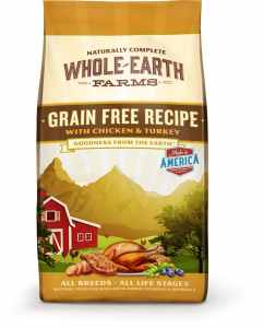 Whole Earth Farms Grain Free Chicken and Turkey Recipe Dry Dog Food