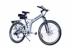 X-Cursion Electric Power Folding Mountain Bicycle
