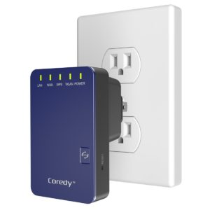 Coredy N300 Mini WiFi Range Extender Access Point Router (Coredy WN300 Updated Edition)