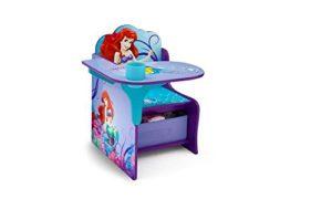 Disney Little Mermaid Chair Desk with Storage