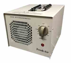 Fresh Air Commercial Air Purifier Ozone Generator UV Sterilizer 4,000mg hr 4g Cleaner Deodorizer UVC