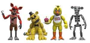 Funko Five Nights at Freddy's 4 Figure Pack(1 Set), 2