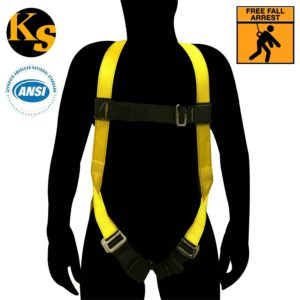 KwikSafety Fall Protection ANSI General Purpose Construction Safety Harness