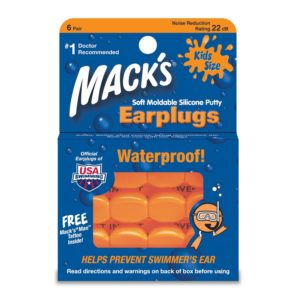 Mack's 6 pair Pillow Soft Ear Plugs - Kid Size
