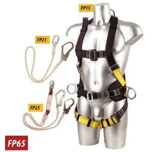 Portwest Construction Fall Arrest Kit Black by Portwest