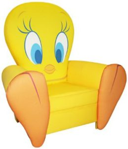 Warner Brothers Icon Chair, Tweety