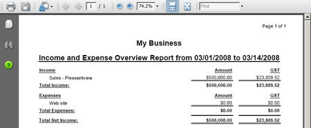 Creating Income And Expense Reports Top Producer Support