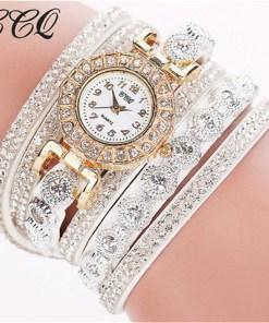 Très Belle Montre Bracelet Pour Dames Avec Strass 1