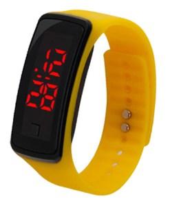 Montre LED Bracelet En Caoutchouc