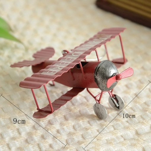 Avions Biplan Rétro Vintage Pour Décoration Intérieure Ou Cadeau 5