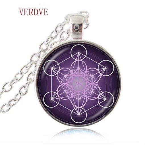 Pendentif Fleur de Vie - Chakra - Hexagramme Magique 4