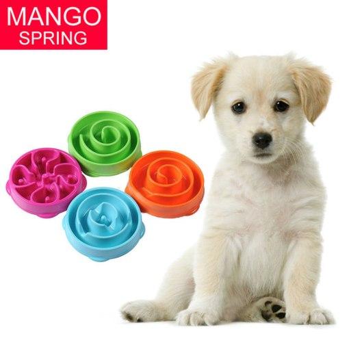 Gamelle anti-glouton pour chien ou chat