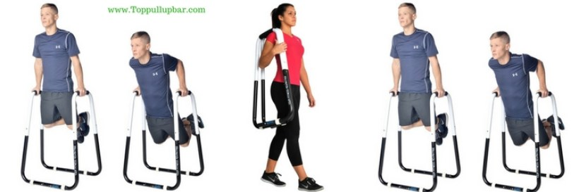 Ultimate Body Press Dip Bar Fitness Station
