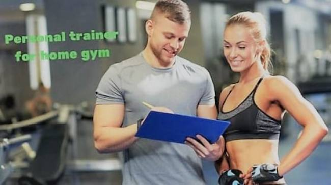 Personal trainer for home gym