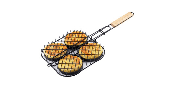 TOPQ Hamburger Grilling Basket
