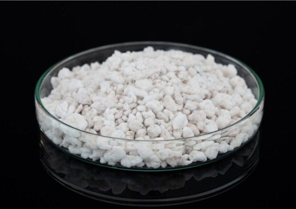 Perlitin kimyasal özellikleri