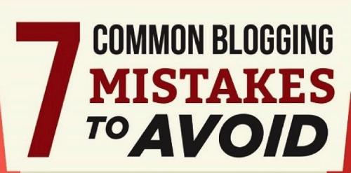 7 common blogging mistakes
