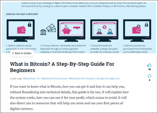 Bitcoin Tutorial Example