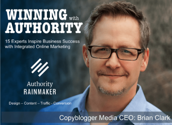 Brian Clark Authority Rainmaker Cover