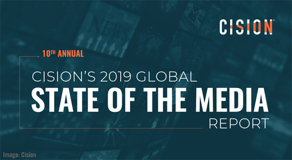 Cision 2019 Global State of the Media Report Image