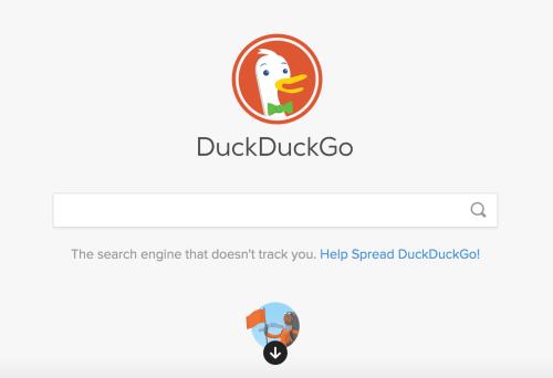 DuckDuckGo Example