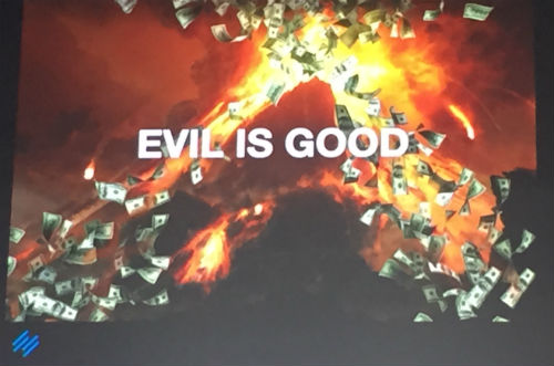 Evil is Good - Authority Rainmaker 2015