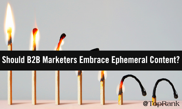 Burning Matches Emphemeral Content Image