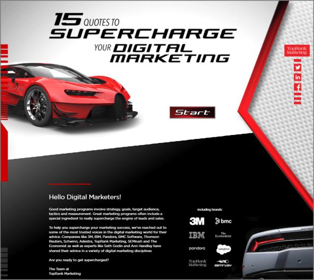 Interactive Influencer eBook Example